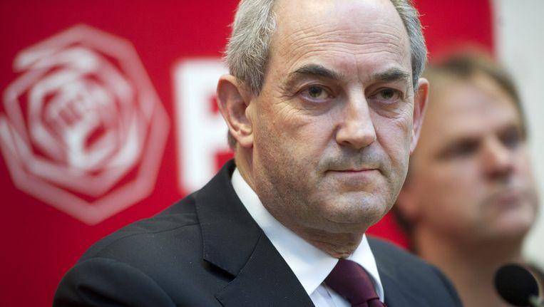Voormalig partijleider van de PvdA Job Cohen. Beeld null