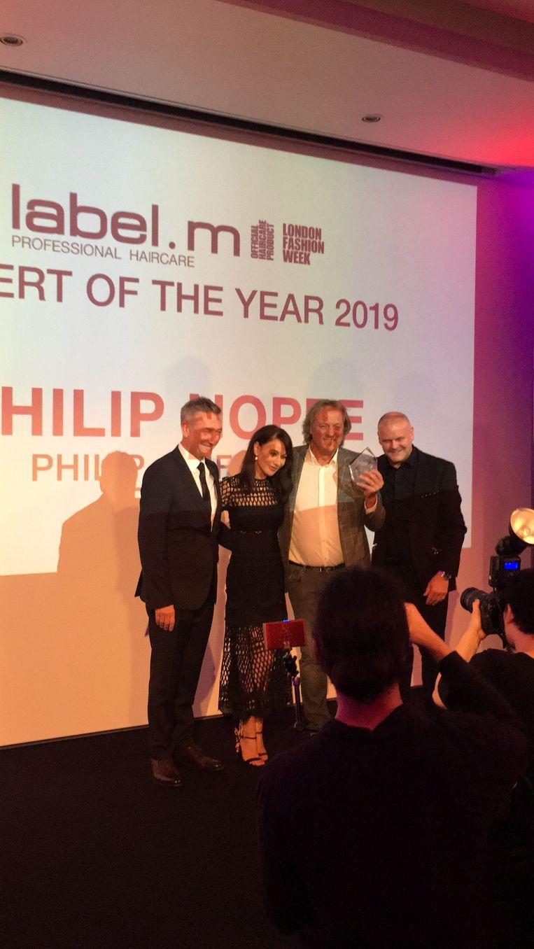 Philippe Noppe werd in Londen uitgeroepen tot Label.m Expert of the Year.