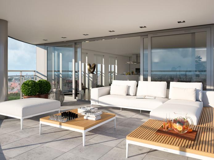 In 2011 moest het plan voor New York Apartments de ijskast in, maar nu verkopen ze goed in Apeldoorn: appartementen in het topsegment van de koopmarkt.