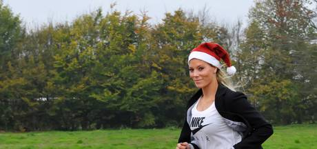 Nadine Broersen zet Santa Night Run op in Dongen
