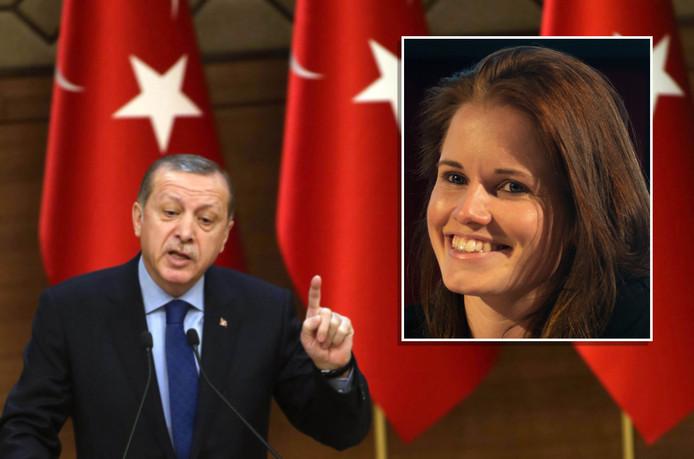 Ans Boersma werd vanmorgen Turkije uitgezet
