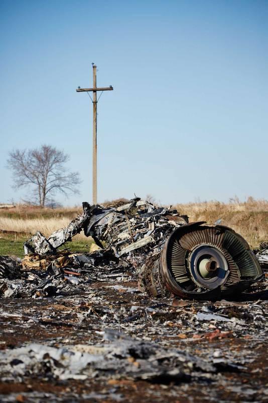 Het neerschieten van MH17 door een Oekraïense straaljager komt niet overeen met de schade aan de wrakstukken