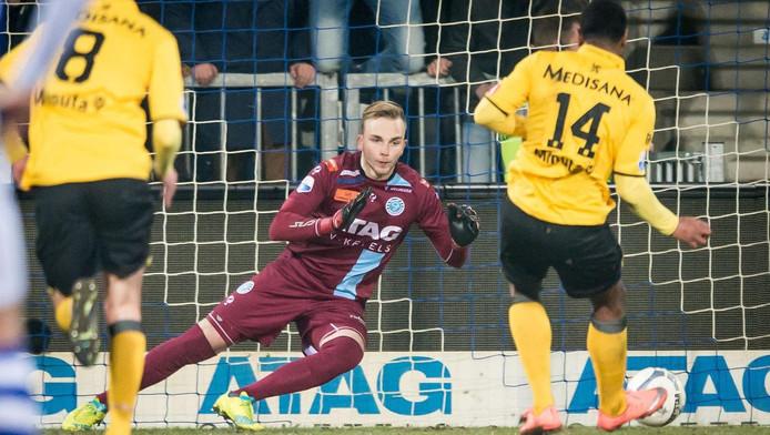 De Graafschap-doelman Hidde Jurjus.