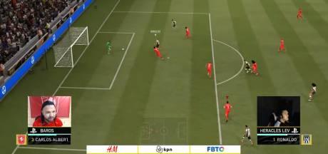 Teruggekeerde Lev Vinken helpt Heracles terug in de race om play-offs eDivisie