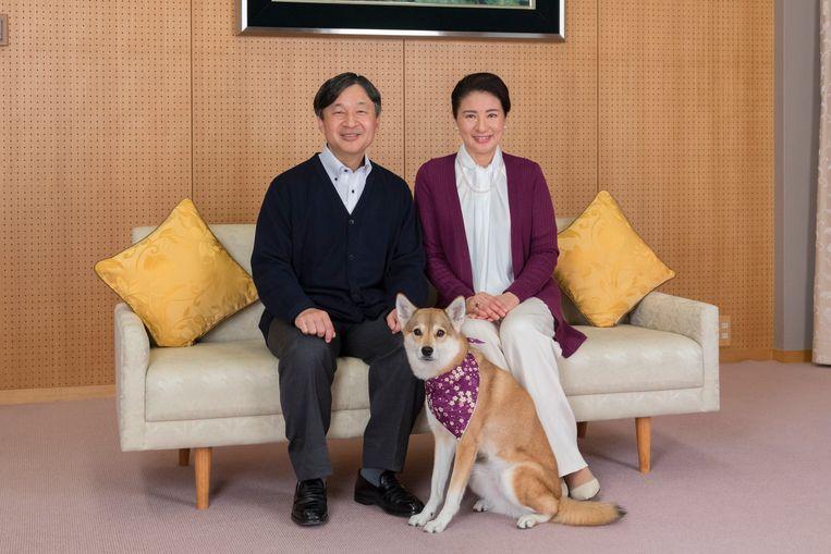 Kroonprins Naruhito en prinses Masako. Beeld AFP