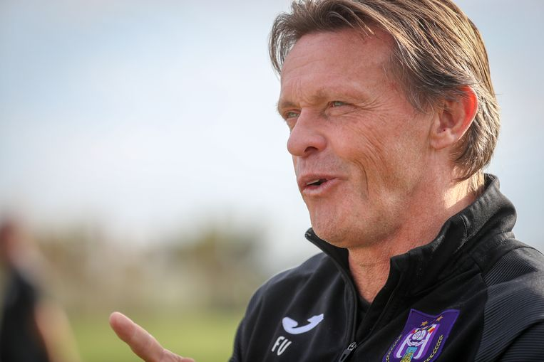 Trainer Frank Vercauteren .