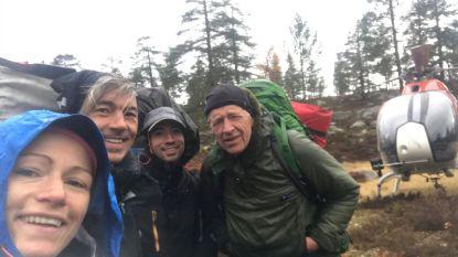 """Grote zoekactie naar Vlaamse avonturiers in Zweedse wildernis, maar die waren zich van geen kwaad bewust: """"Onze tocht heeft gewoon wat langer geduurd"""""""