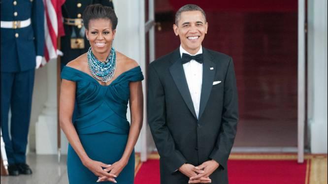 President Obama verrast kinderen tijdens etentje in Witte Huis