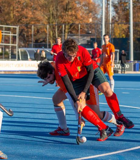 Hockeyers Boxmeer tegen Civicum in Silver Cup