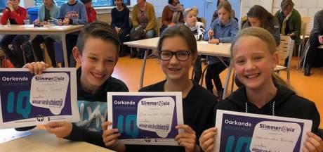 Drie slimste Zeeuwse basisscholieren uit Hulst doen mee aan landelijke Mensa SlimmerIQuiz
