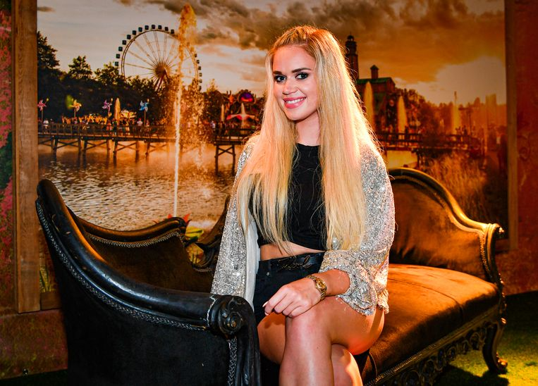 BOOM, BELGIUM - JULY 27 : Mandy pictured at Tomorrowland on July 27, 2019 in Boom, Belgium, 27/07/2019 ( Photo by Joel Hoylaerts / Photo News )