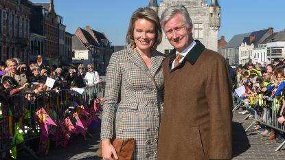 Portretten van Filip en Mathilde moeten weg uit raadzaal stadhuis Herentals