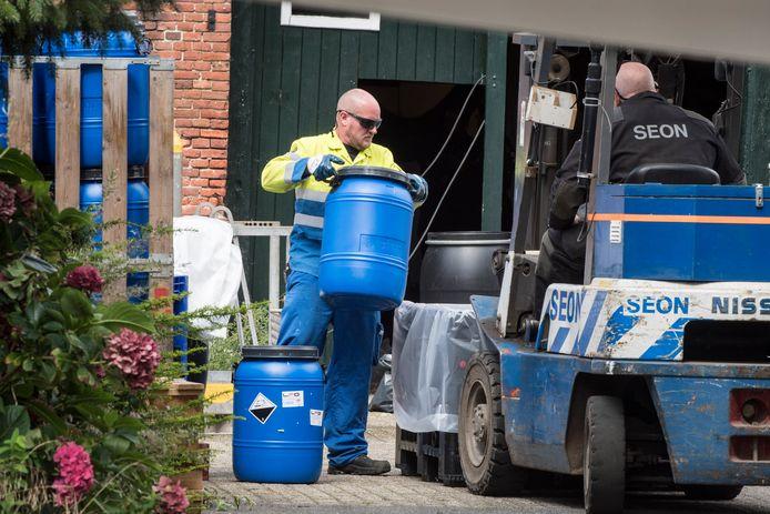 In Noordijk in de gemeente Berkelland werd in 2017 één van de grootste drugslabs tot dan toe van Nederland ontmanteld.