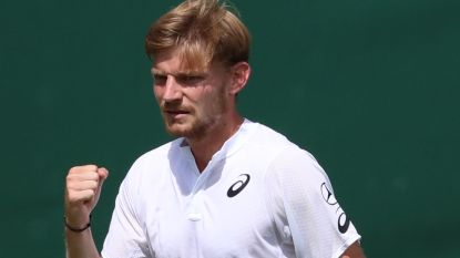 Goffin klopt Franse vriend Chardy en staat zonder setverlies in derde ronde op Wimbledon