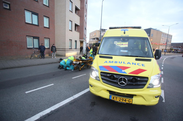Fietser gewond in Helmond.
