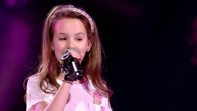 Julliette wist in het VTM-programma alle harten te stelen met haar fijne stemgeluid.
