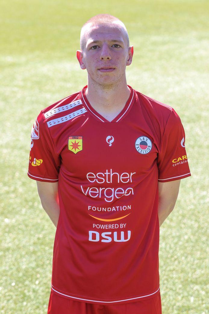Keeper Lars Bleijenberg sluit aan bij de eerste selectie van Excelsior Rotterdam.