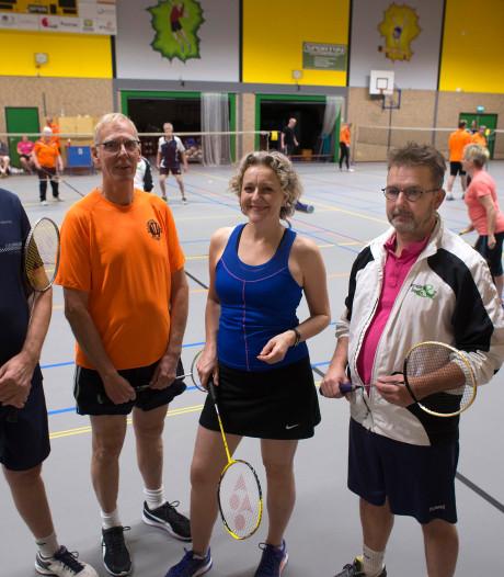Steeds minder leden: Bronckhorster badmintonners bundelen krachten