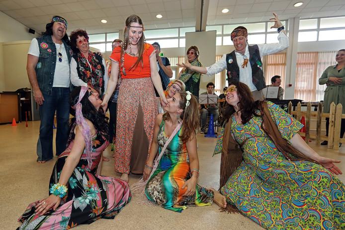 Hippietijden herleven in Roosendaal. Foto Chris van Klinken / Pix4Profs