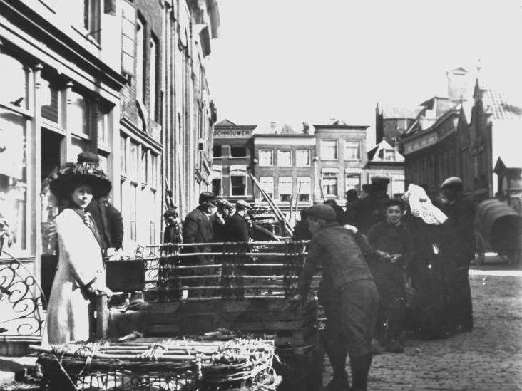 De Dordtse veemarkt begon veelbelovend, maar alleen de straatnaam is nog over