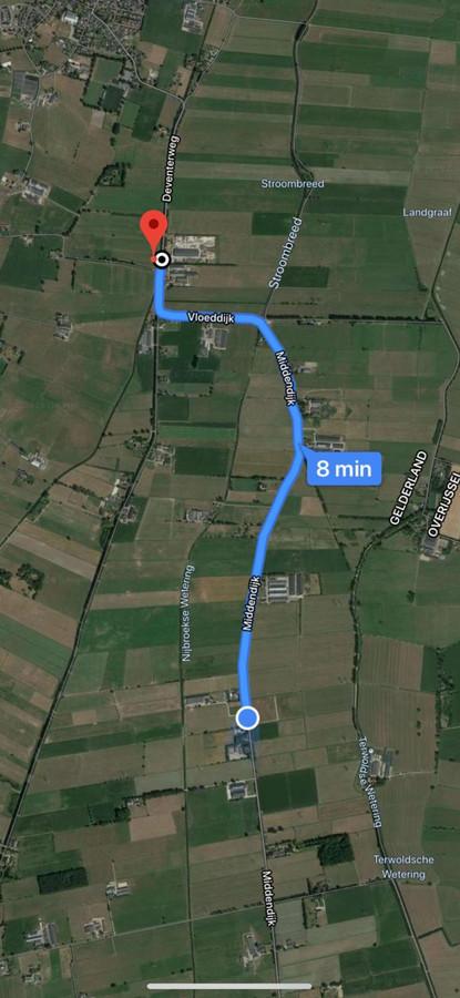 De plek waar het lichaam is gevonden is vlakbij het feest waar de vrouw (18) was.