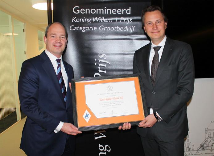 Vopak genomineerd voor Koning Willem 1-prijs.