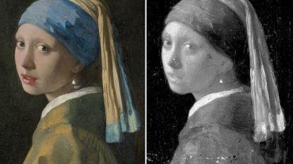 'Meisje met de parel' geeft geheimen prijs dankzij moderne technieken: eigenlijk voor groen gordijn, toch wimpers