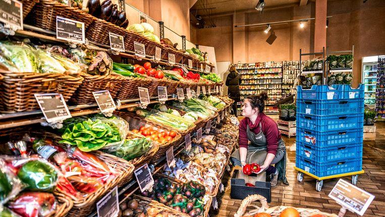 De Odin-supermarkt in Zutphen. Beeld Raymond Rutting / de Volkskrant