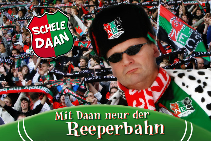 De cover van de CD Mit Daan neur der Reeperbahn van Erik Langendijk alias Schele Daan.