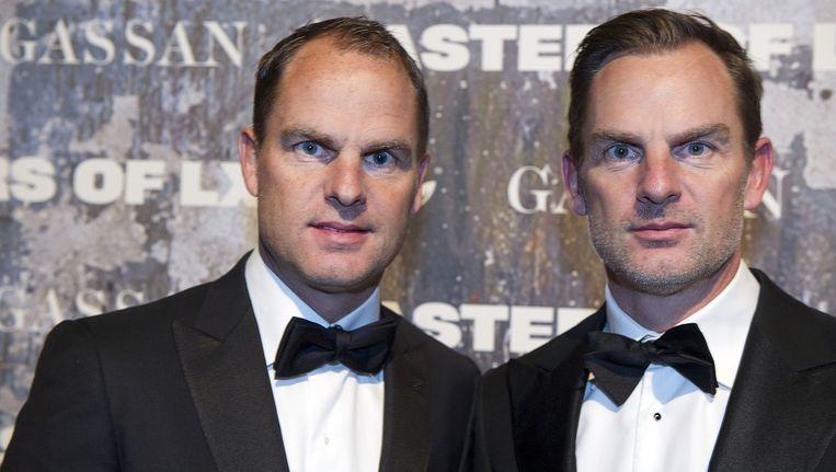 Frank (l) en Ronald de Boer.