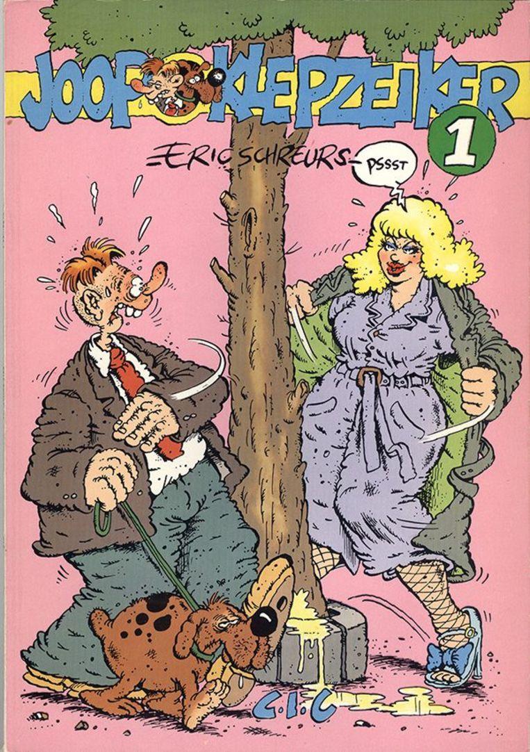 Eén van de covers van Joop Klepzeiker. Beeld