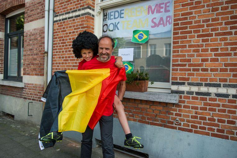 Sari Cuypers en haar papa Bavo zien de trip naar Brazilië helemaal zitten.
