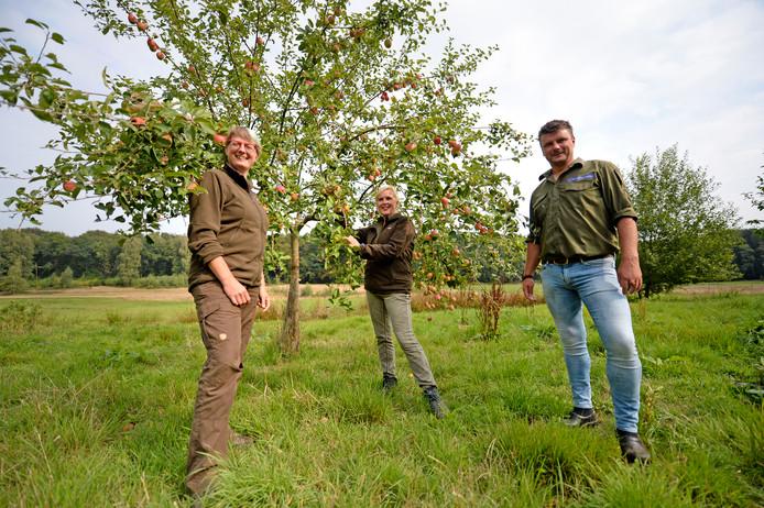 Annemieke Ouwehand, Simone Damhof en Maarten Olde Scholtenhuis (vlnr).