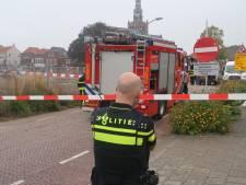 Graafwerk Markt in Zevenbergen: na de stroomstoring nu het gaslek