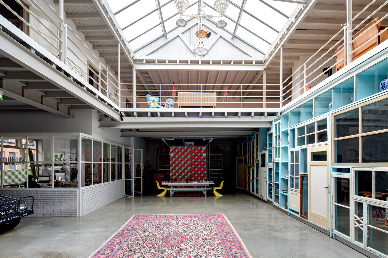 Het ontwerp van HILBERINKBOSCH voor Studio Boot in Den Bosch.