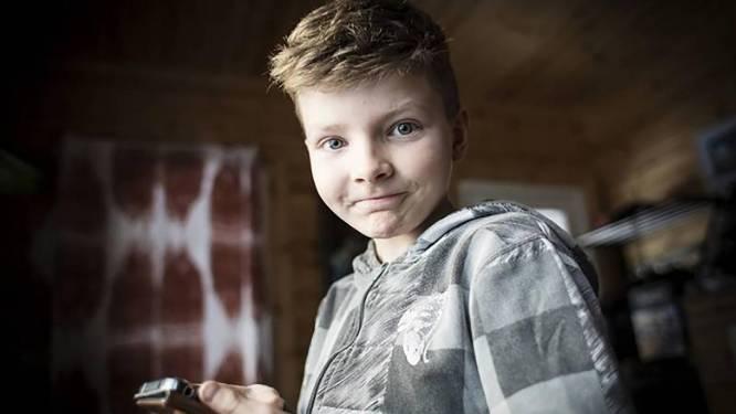 Levi (10) was ten dode opgeschreven. Maar toen werd hij toegelaten tot een revolutionaire kankerstudie