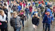 Leerlingen lopen elke dag één mijl