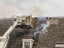 Brand op bovenste etage van pand aan Buiten Walevest onder controle