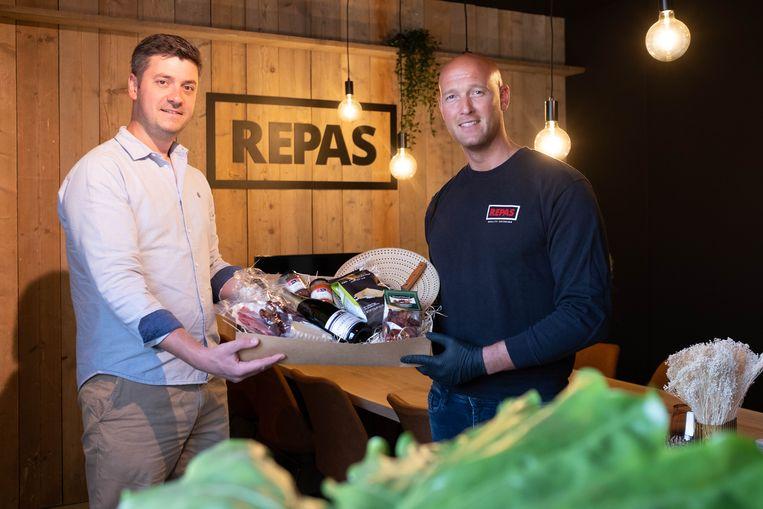 Jeff Philipsen en Levi Heylen van Repas Catering in Mechelen.