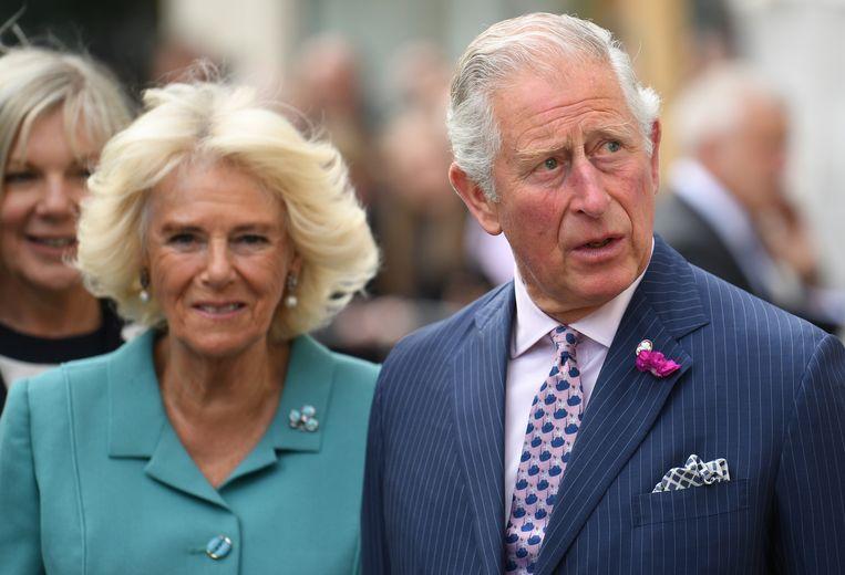 Prins Charles en z'n vrouw Camilla.