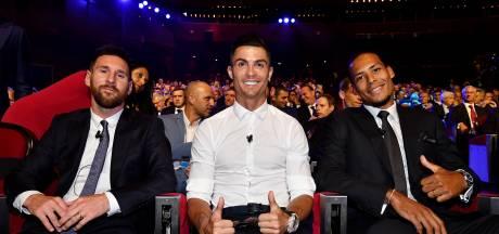 Ronaldo wil vaker de Gouden Bal dan Messi: 'Ik denk dat ik het verdien'