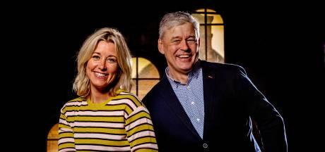 Carrie ten Napel en Charles Groenhuijsen over half jaar Op1: 'Een talkshow met duo's, dat kon niks zijn'