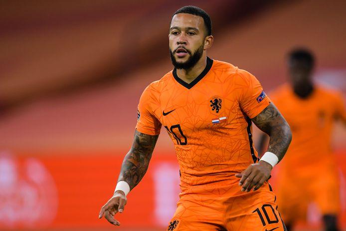 04-09-2020: Voetbal: Nederland v Polen: Amsterdam Memphis Depay of The Netherlands