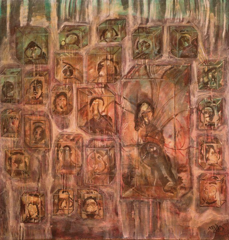 Overzicht van het werk van Kamala Ibrahim Ishag, van de jaren zestig tot heden. Beeld JB Agency Paris