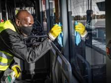 Een extra schone bus, allemaal dankzij Michael