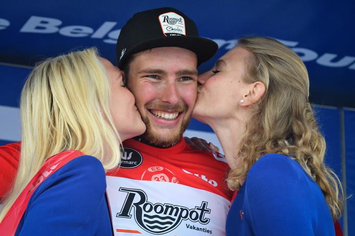 Jan-Willem Van Schip won vorige week de eerste etappe van de Baloise Belgium Tour.