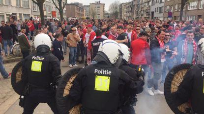 Politie zet waterkanon in na Antwerpse derby, negen heethoofden opgepakt