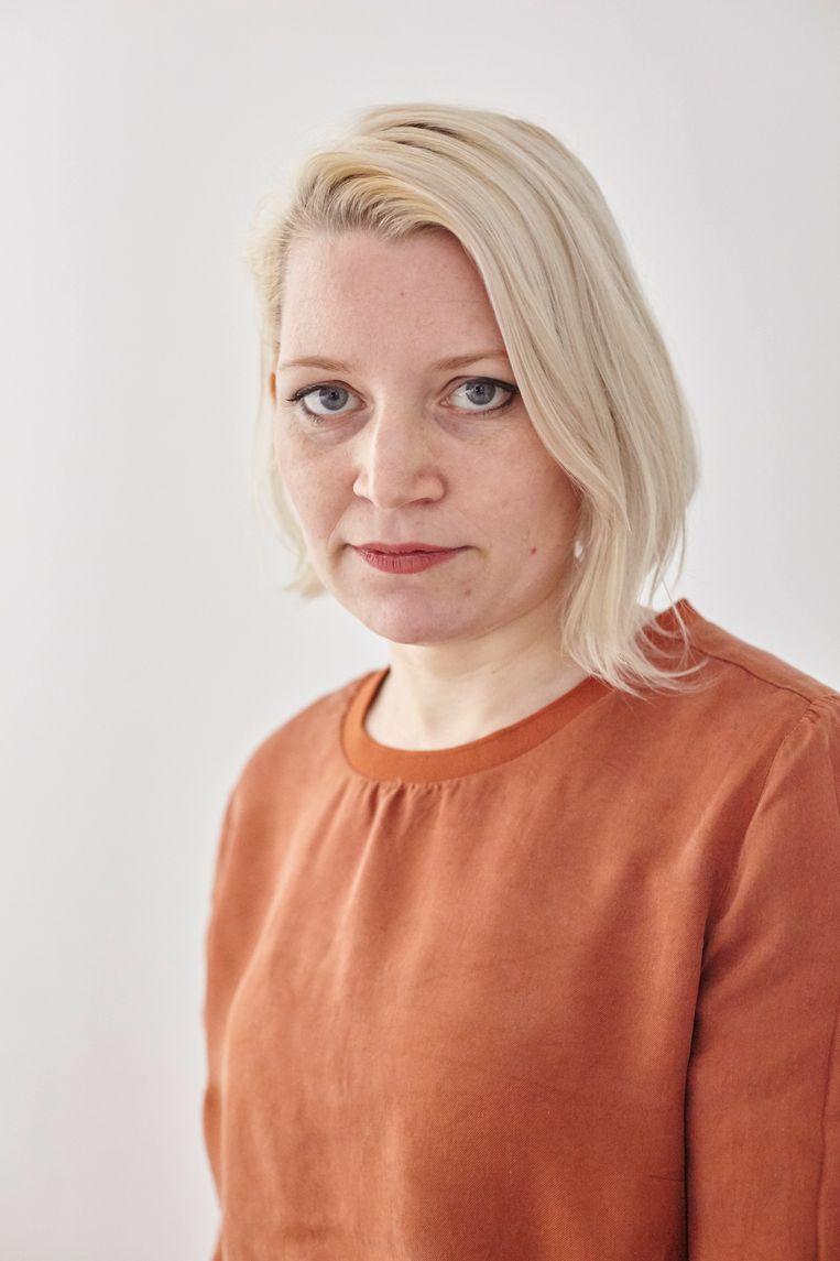 Marije, moeder van Kai. Beeld Mascha Jansen