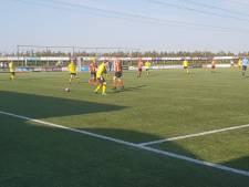 Jeugdig FC Zutphen buigt diep voor DOS Kampen