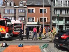 Brandweer zoekt brandhaard in falafelrestaurant